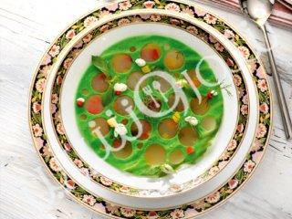 سوپ مينسترونه سبزیجات