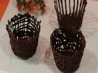 سبد میوه شکلاتی