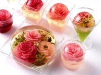 ژله تزریقی به شکل گل رز