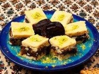طرز تهیه رنگینک دسر سنتی ایرانی