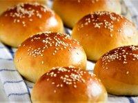 طرز تهیه نان همبرگر خانگی