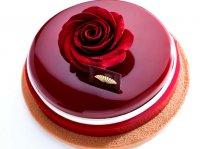 آموزش روکش براق کیک آینه ای